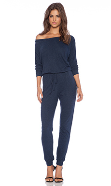 Lanston Boyfriend Jumpsuit in Navy