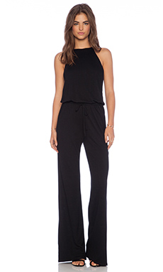 Lanston Halter Jumpsuit in Black