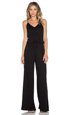 Lanston Cami Jumpsuit in Black