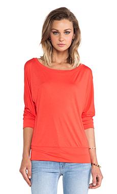 Lanston Boyfriend Sweatshirt in Crimson