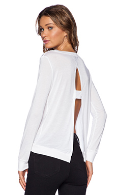 Lanston Cross Back Pullover in White