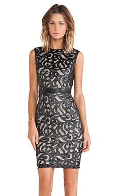 LaPina Olivia Lace Dress in Black