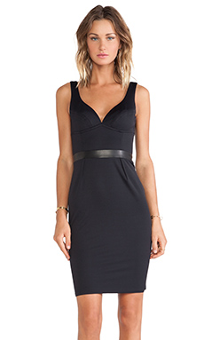 LaPina Stephanie Dress in Black