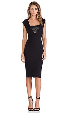 LaPina by David Helwani Callie Dress in Black