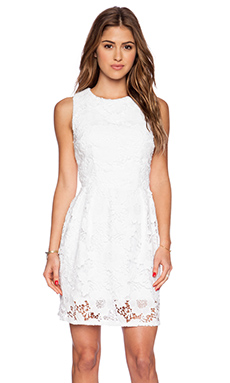 LaPina by David Helwani Blair Dress in White
