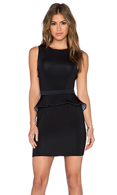 LaPina by David Helwani Harley Dress in Black