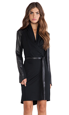 LaMarque Hazel Wrap Dress in Black