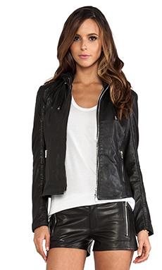 LaMarque Audrey Biker Jacket in Black