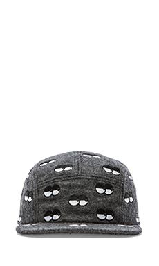 Lazy Oaf Eye Eye Cap in Grey