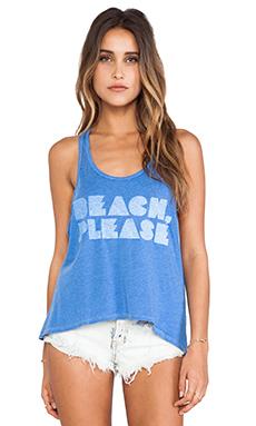 Local Celebrity Beach Please Nikki Tank in Deep Ocean