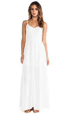 Line & Dot x REVOLVE Madison Flirt Dress in White