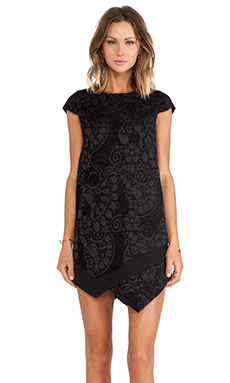 Line & Dot Uma Dress in Black