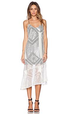 Line & Dot Angelina Dress in Angel's Eros