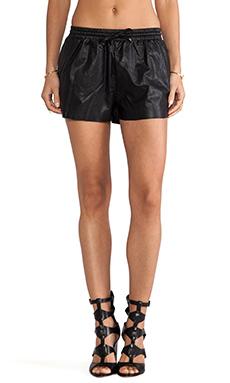 Line & Dot Hollywood Boxer Short in Black