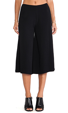 Line & Dot Winoma Forever Goucho Pant in Black