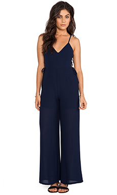 Line & Dot Blonde Ambition Jumpsuit in Ink