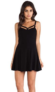 LENNI Harness Dress in Black