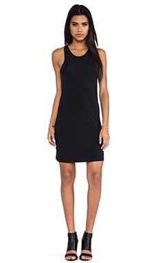 L'AMERICA The New Cool Jersey Dress in Black