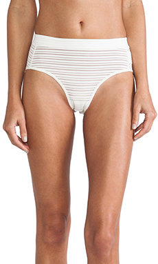 L'AMERICA Wake Me Up Knickers in Creme