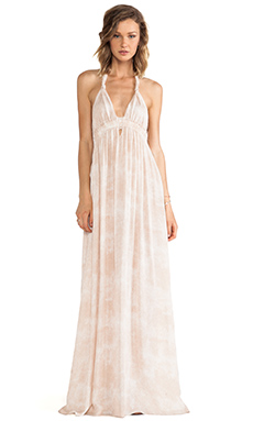 LoveShackFancy Love Dress in Mist