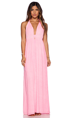 LoveShackFancy Braided Love Dress in Jaipur Pink