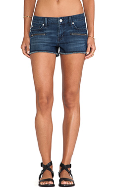 Level 99 Zippered Cut-Off Short in Brea