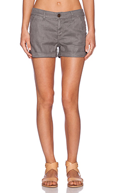 Level 99 Sienna Tomboy Trouser Short in Shadow