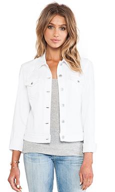 Level 99 Western Jacket in Optic White