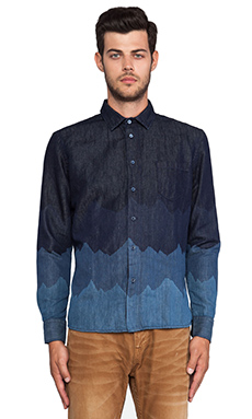 LEVI'S: Made & Crafted Classic Shirt in Denim Mountains