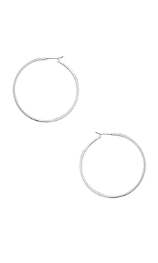 LARGE PERFECT HOOP EARRINGS