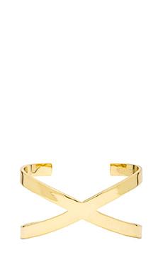Lisa Freede Solid X Bracelet in Gold