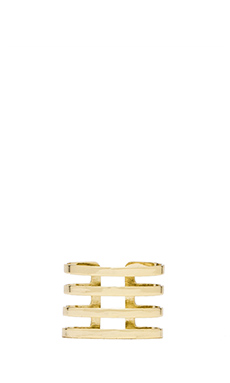 Lisa Freede Quad Ring in Gold
