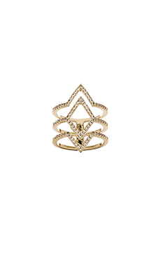 Lisa Freede Aliza Ring in Gold