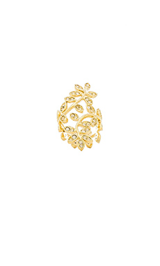 Lisa Freede Vine Ring in Gold