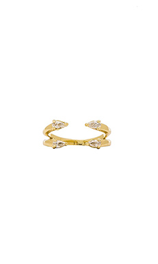 Lisa Freede Ava Ring in Gold