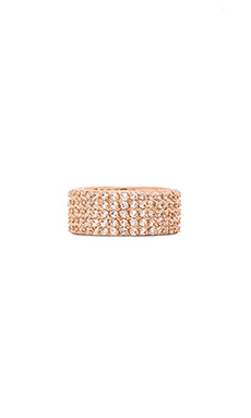 Lisa Freede Wide Eternity Band in Rose Gold