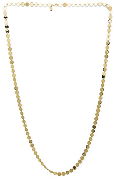 Lisa Freede Metallic Palette Necklace in Gold