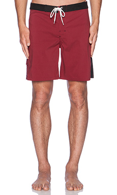 Lightning Bolt Malibu Boardshort in Biking Red