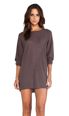 Line Germain Sweater Dress in Umber
