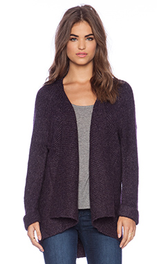 Line Haven Cardigan in Syrah