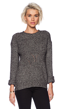 Line Ingrid Sweater in Stone Wash