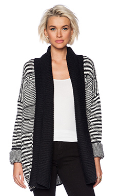 Line Renie Oversized Cardigan in Ridge