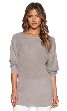 Line Spike Sweater in Stone