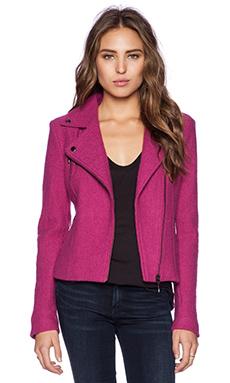 Line Moto Jacket in Pink
