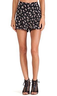Lisa Kai Floral Short in Dark Floral