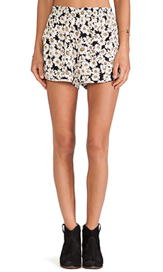 Lisa Kai Floral Short in Daisy Floral