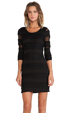 LIV Stila Mini Dress in Black