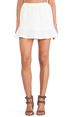 LIV A-Line Skirt in White