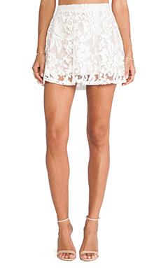LIV A-Line Skirt in Cream