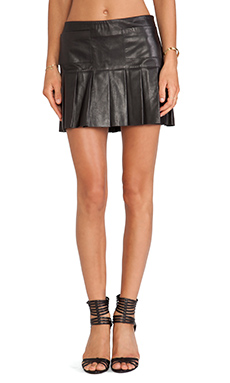 LOVE LEATHER The Brittney Spears Skirt in Black